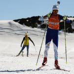 Copahue recibió a la Selección Nacional de Biatlhon