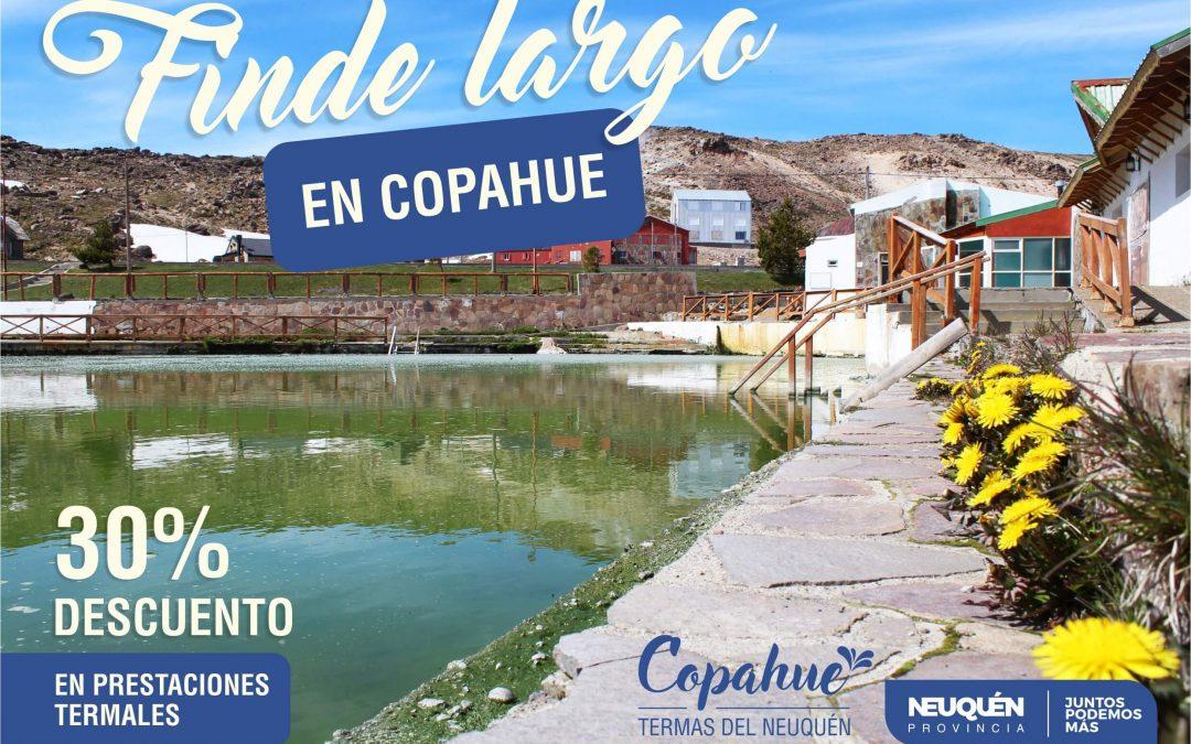 Finde largo en Copahue y Caviahue