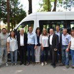 Importantes Aportes y Entrega de Minibus al Ente Provincial de Termas