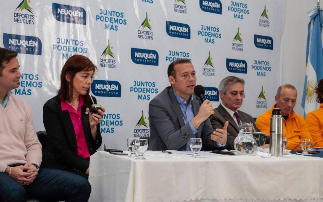 Se presentó la carrera deportiva Copahue Extremo 2018
