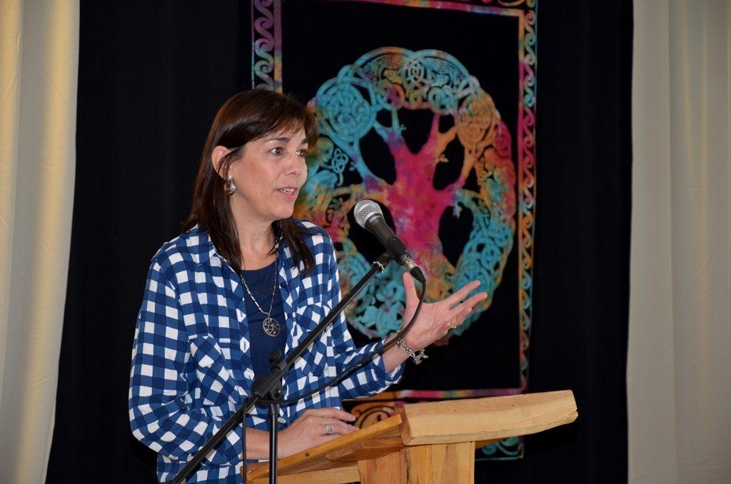 Ministra de Turismo Neuquen Marisa Focarazzo Copahue