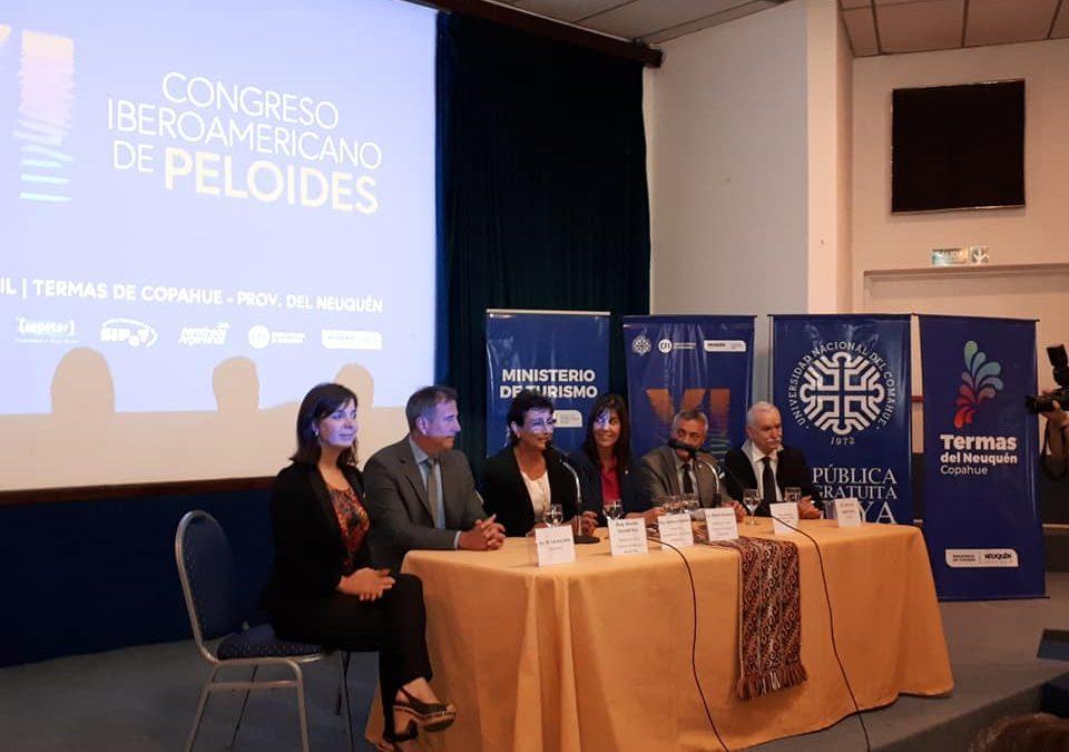 Se realiza el Acto de Apertura del VI Congreso Iberoamericano de Peloides