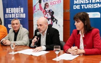 Presentaron la competencia internacional Copahue Extremo
