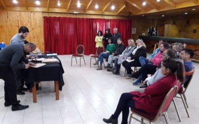 Ahora: se realiza en Caviahue la apertura de sobres de la Licitación de Locales Comerciales de Copahue