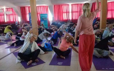 """Taller """"Swara Yoga y Pranayama"""" a cargo de la Prof. Andrea Choquich"""
