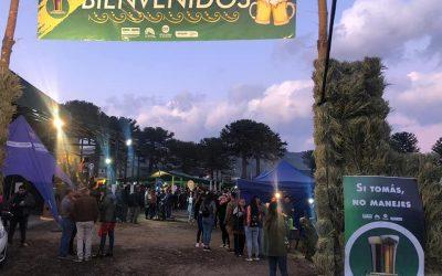 Momentos de la Fiesta Provincial de la Cerveza Neuquina