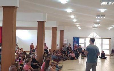 Copahue Medita se desarrolla con gran cantidad de público