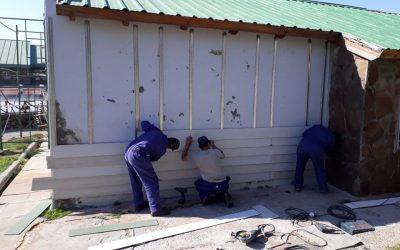 Seguimos trabajando para embellecer las termas