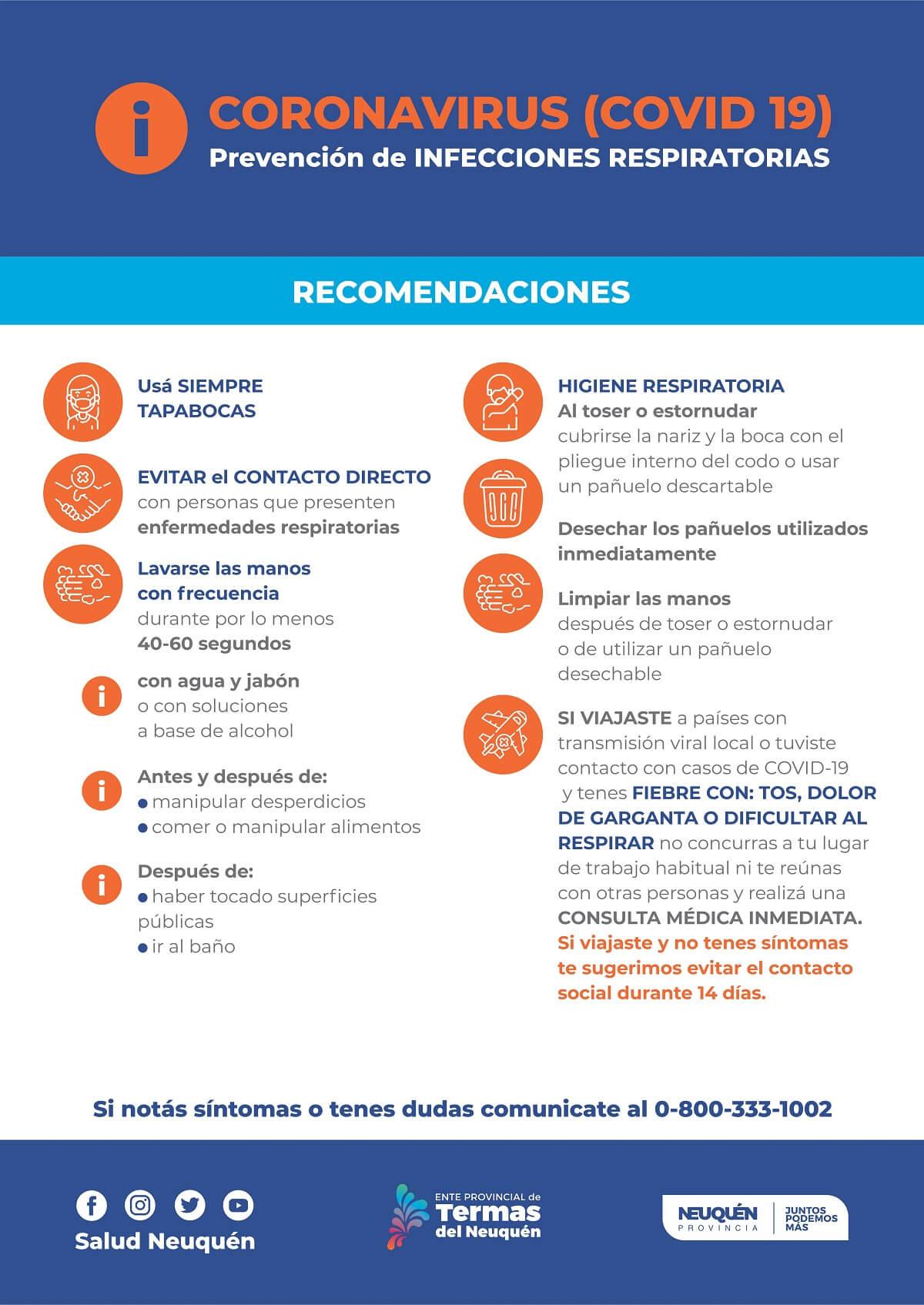 PREVENCION Coronavirus Covid 19