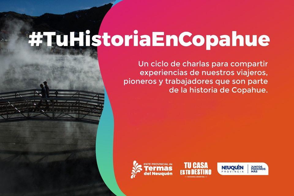 Nuevo ciclo de charlas Tu historia en Copahue